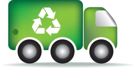 Afvalverwerkende bedrijven of overslag