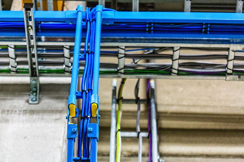Kabelwegen en bekabeling